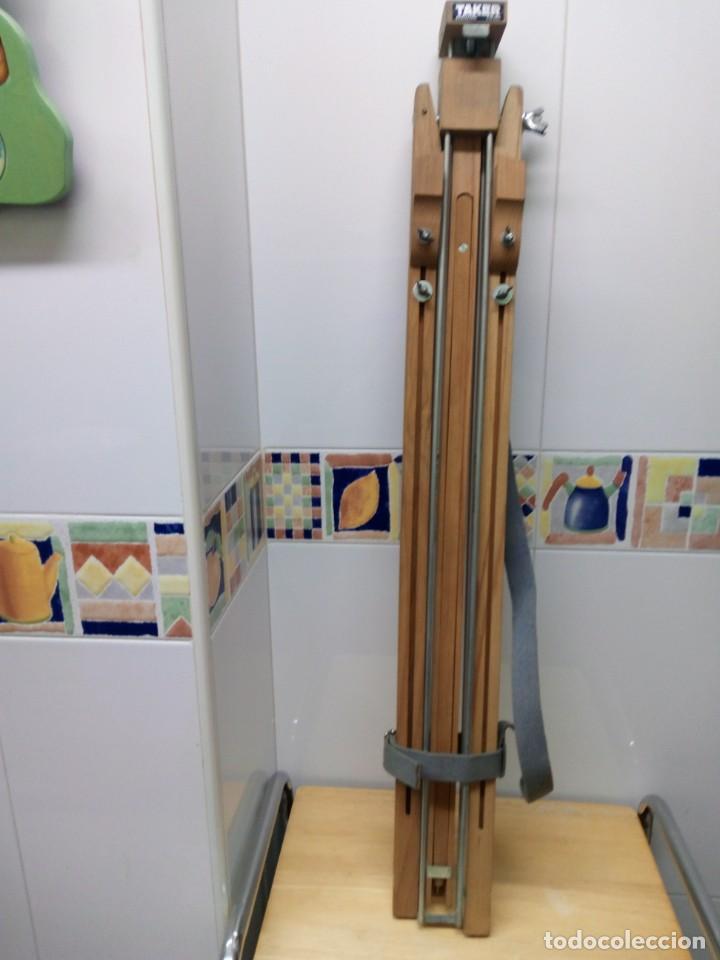 ANTIGUO CABALLETE DE PINTURA MARCA TAKER (Arte - Material de Bellas Artes)
