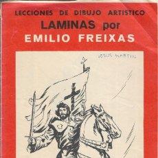 Arte: LECCIONES DE DIBUJO ARTISTICO - LAMINAS POR EMILIO FREIXAS - SERIE 23 - FIGURAS RELIGIOSAS II. Lote 217779691
