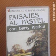 Arte: VHS-CURSO PRACTICO TECNICAS DE PINTURA. Nº 5. PAISAJES AL PASTEL. BARRY WATKIN. 60 MIN. 1988.. Lote 218235936