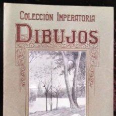 Arte: CARPETA DIBUJO/*COLECCIÓN IMPERATORIA/DIBUJOS/PAISAJES* (7 LÁMINAS) POR J. CAMINS. AÑOS 50 (S. XX).. Lote 218696418