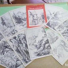 Arte: LAMINAS EMILIO FREIXAS - 11 - LECCIONES DE DIBUJO ARTISTICO. Lote 219096943