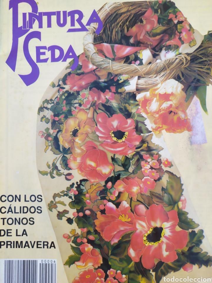 Arte: Lote de revistas Pintura en Seda, vol 2,4,5,6,7 - Foto 2 - 219694645