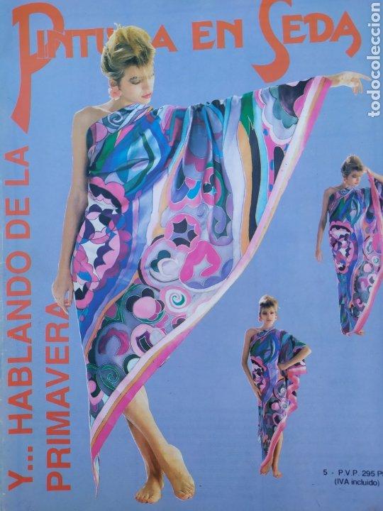 Arte: Lote de revistas Pintura en Seda, vol 2,4,5,6,7 - Foto 4 - 219694645