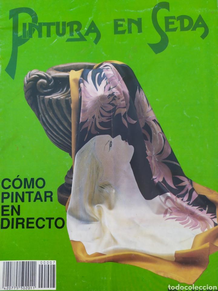 Arte: Lote de revistas Pintura en Seda, vol 2,4,5,6,7 - Foto 5 - 219694645
