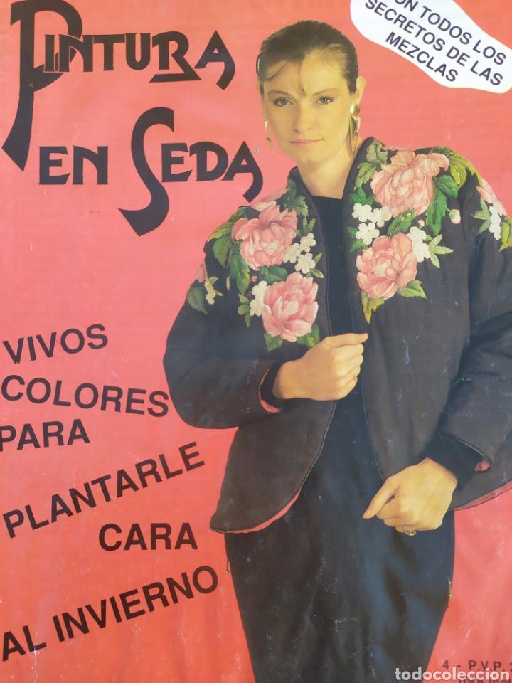 Arte: Lote de revistas Pintura en Seda, vol 2,4,5,6,7 - Foto 6 - 219694645