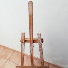 Arte: CABALLETE DE PINTURA. TRÍPODE DE MADERA. PLEGABLE Y REGULABLE.. Lote 219985067
