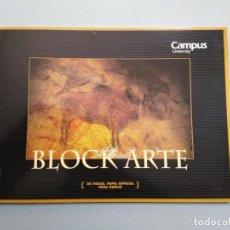 Arte: BLOCK DE PAPEL ESPECIAL PARA DIBUJO - CAMPUS UNIVERSITY. Lote 228770020