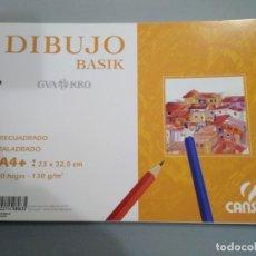 Arte: BLOCK DE PAPEL ESPECIAL PARA DIBUJO - BASIK - GUARRO - CANSON. Lote 228787060