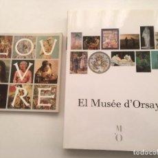 Arte: MUSEOS D´ORSAY Y LOUVRE DE PARIS,. Lote 229799145