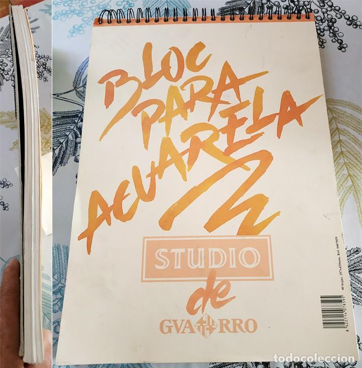BLOC PARA ACUARELAS STUDIO DE GUARRO 40 HOJAS 291/420 MM (Arte - Material de Bellas Artes)