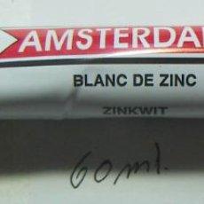 Arte: TUBO DE OLEO MARCA TALENS AMSTERDAN 60 ML BLANCO DE ZINC Nº 104. Lote 241482475