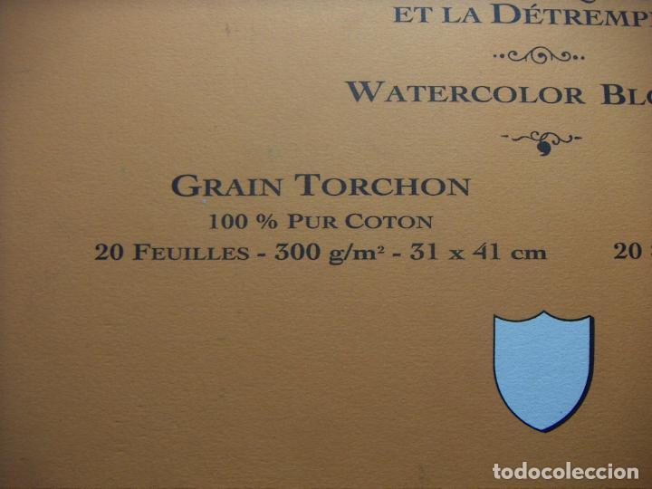 Arte: BLOC DE ACUARELA ARCHES 300gr. GRAIN TORCHON 41x31 19 HOJAS - Foto 2 - 241495730
