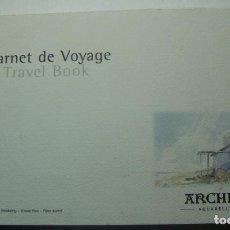 Arte: BLOC DE ACUARELA ARCHES 300GR. GRAIN FINE 25X15 13 HOJAS. Lote 241496350