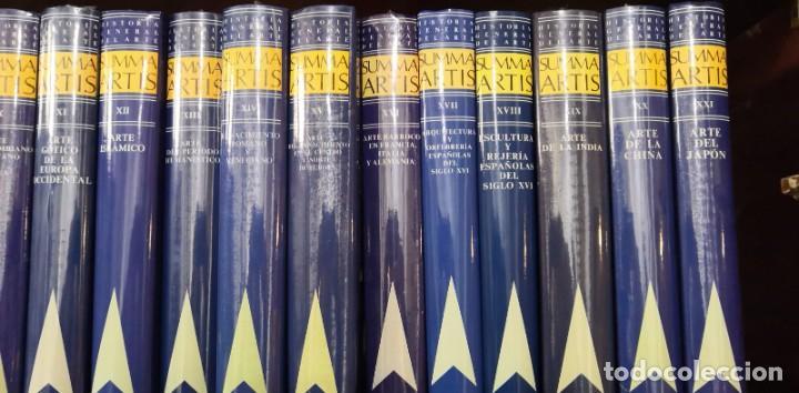 Arte: Colección de 36 libros SUMMA ARTIS Precintados Historia del Arte - Foto 3 - 243061135