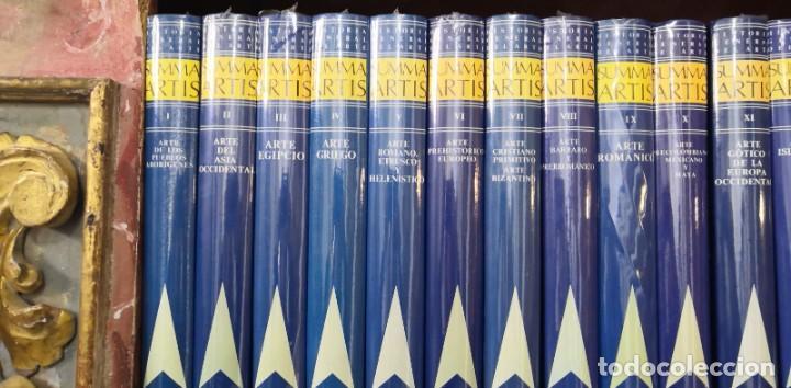 Arte: Colección de 36 libros SUMMA ARTIS Precintados Historia del Arte - Foto 4 - 243061135