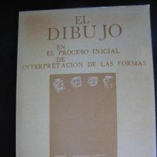 Art: LIBRO UNIVERSIDAD POLITECNICA VALENCIA EL DIBUJO EN EL PROCESO INICIAL DE INTERPRETACION DE LAS FOR. Lote 247811720