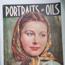 Arte: PORTRAITS IN OILS RETRATOS EN ÓLEO STELLA MACKIE. Lote 254947775