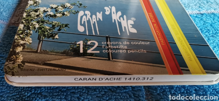 Arte: CAJA 12 LAPICES DE COLORES CARAN DACHE - Foto 4 - 257612140