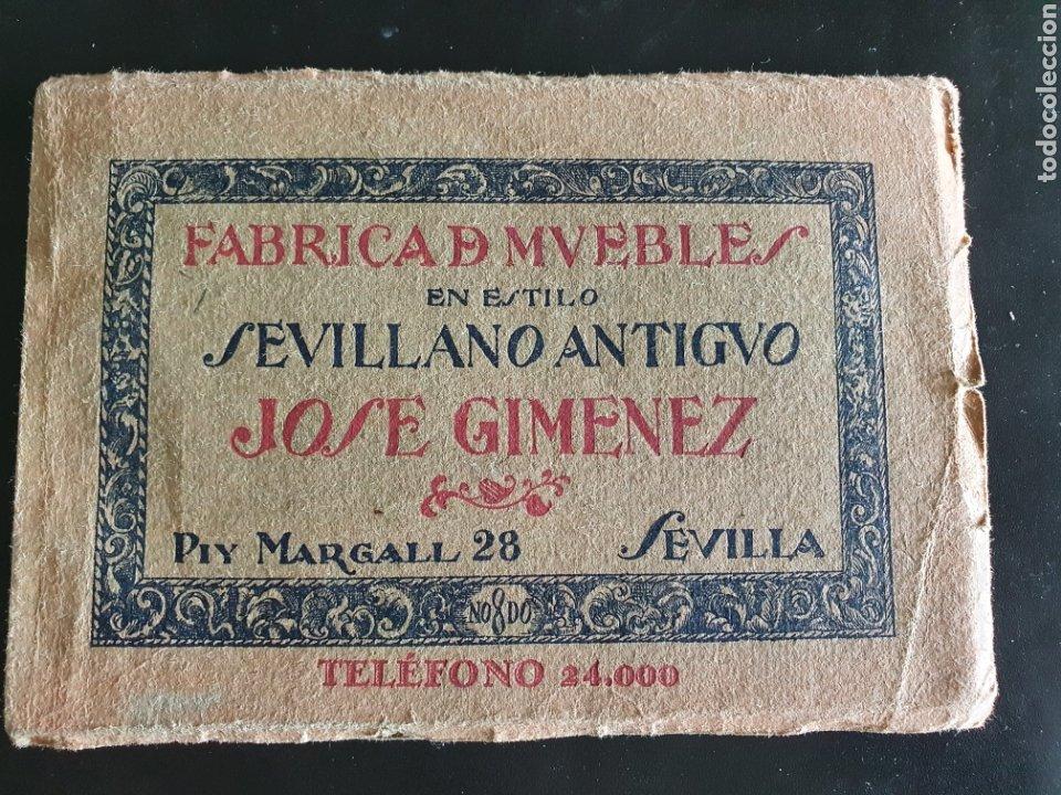 ALBUM JOSE GIMENEZ MUEBLE SEVILLANO (Arte - Material de Bellas Artes)