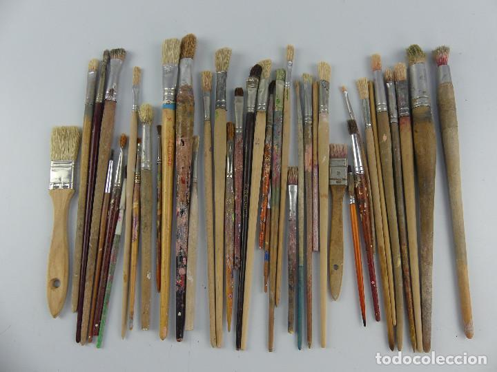 LOTE PINCELES (Arte - Material de Bellas Artes)