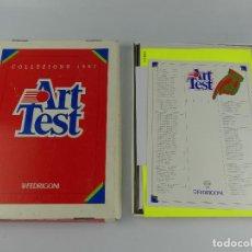 Arte: CAJA PAPELES DE COLORES FEDRIGONI ART TEST. Lote 264166060