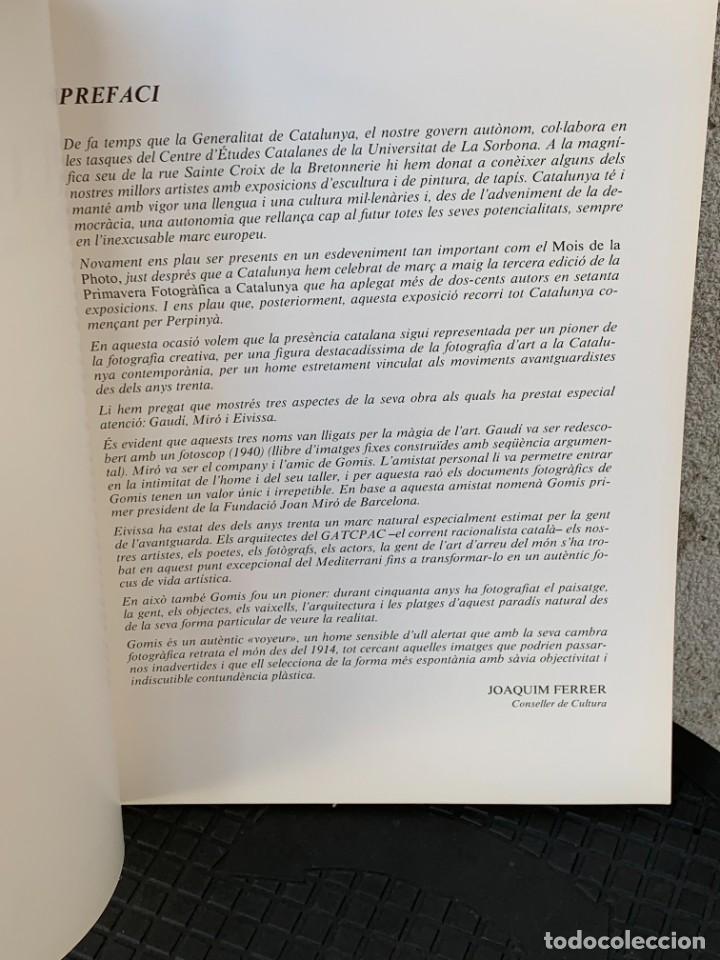 Arte: JOAQUIM GOMIS LA POÈTICA DE LA MODERNITAT BARCELONA 1986 MOLT IL·LUSTRAT 29X21 - Foto 6 - 267906599