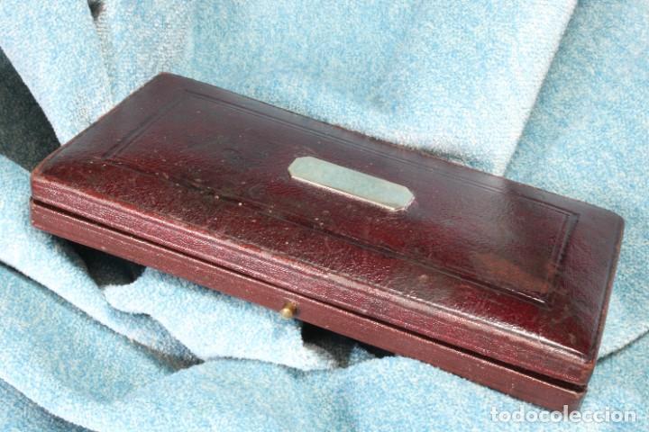 Arte: Caja Compases A. Knott. Completa. A. Knott Compass Box. Complete. - Foto 8 - 268271714