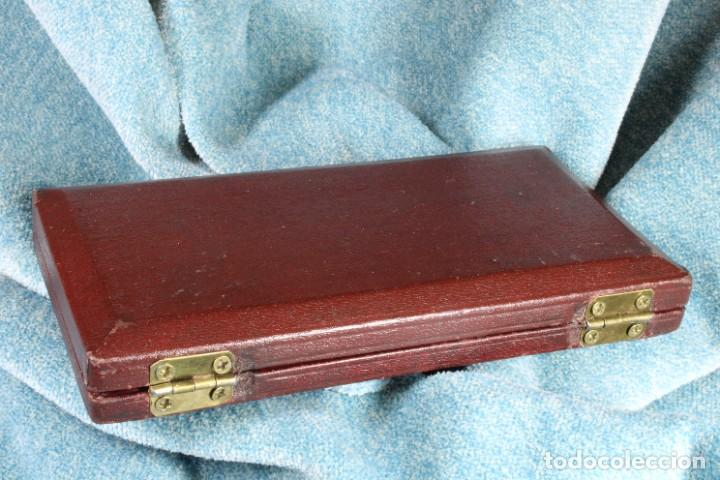 Arte: Caja Compases A. Knott. Completa. A. Knott Compass Box. Complete. - Foto 9 - 268271714