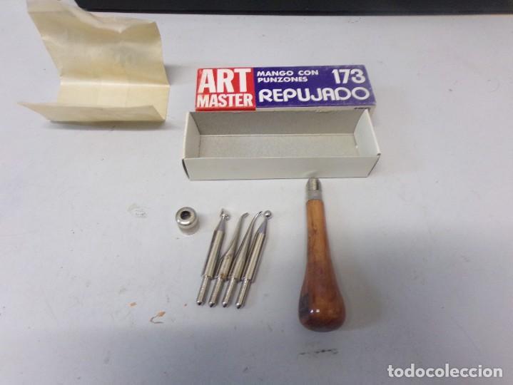 ART MASTER MANGO CON PUNZONES DE REPUJADO NUEVO (Arte - Material de Bellas Artes)