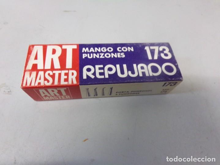 Arte: Art Master mango con punzones de repujado nuevo - Foto 7 - 268427474