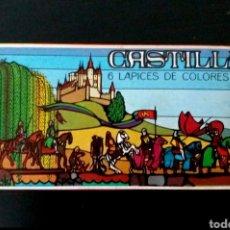 Arte: CASTILLA CAJA 6 LÁPICES COLORES AÑOS 70/80 MATERIAL ESCOLAR EGB CAJITA NUEVA A ESTRENAR. Lote 277265208