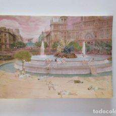 Arte: OUKA LEELE - MUY RARO BLOC DE DIBUJO LIBRETA VINTAGE - MOVIDA MADRILEÑA - LA CIBELES. Lote 287606453