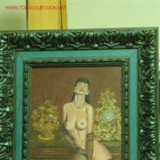 Arte: DESNUDO FEMENINO. Lote 27029952