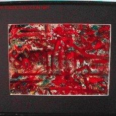 Arte: COMPOSICION MIXTA 42X33 . Lote 23716379