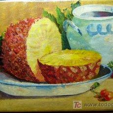 Arte: 1109.2 OLEO S/ TELA 25X45 ,,,M.DURAN 1939. Lote 26386371