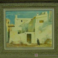 Arte: PERÉ SOLANILLA, JOSEP M. PINTOR NACIDO EN BARCELONA EN 1950.. Lote 26503108