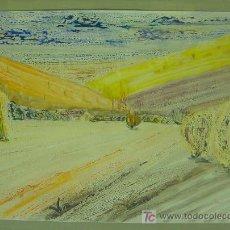 Kunst - Maldonado, Acrílico sobre papel firmado Miguel Ángel Maldonado, medidas 100X70 cm. - 26851784