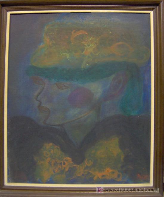 SUÁREZ LLANOS, PACHY, ÓLEO SOBRE TABLEX, MEDIDAS 65X54 CM. (Arte - Pintura - Pintura al Óleo Contemporánea )