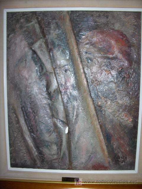 OLEO SOBRE LIENZO. ESTILO FIGURATIVO. PERE CALDERO RIPOLL. REUS . TARRAGONA. (Arte - Pintura - Pintura al Óleo Contemporánea )
