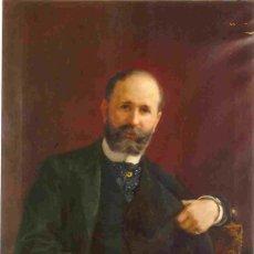 Arte: RETRATO ORIGINAL DE LÓPEZ CABRERA, SOBRE PERSONAJE SEVILLANO (1895). Lote 26443973