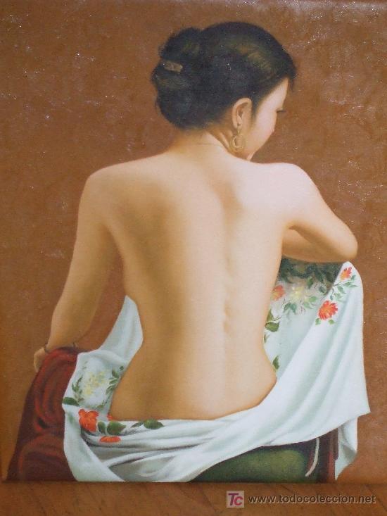 DESNUDO FEMENINO (Arte - Pintura - Pintura al Óleo Contemporánea )