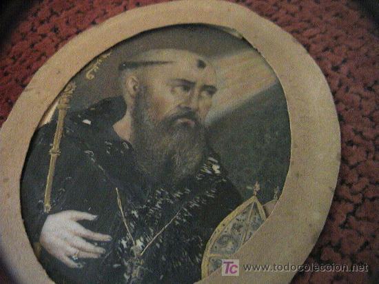 Arte: MINIATURA.PINTURA SOBRE LAMINA DE MARFIL SIGLO XVIII-XIX CON MARCO DE BRONCE. 12 cm. x 8 cm. - Foto 10 - 5232427