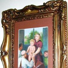 Arte: PURICULTOR Y AYUDANTES.CONSULTA OLEO S-CARTÓN. ESCUELA CATALANA HACIA 1930. SIN FIRMAR.ENVÍO PAGO.. Lote 26759582