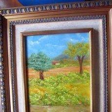 Arte: OLEO ORIGINAL CON MARCO. Lote 27616533