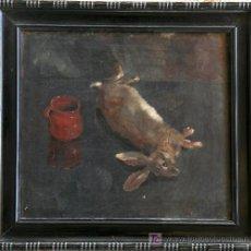 Arte: JOSEP PUJOL (OLOT) BODEGON. FIRMADO Y FECHADO, 1930.. Lote 26383117