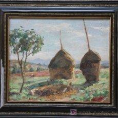 Arte: JUAN, CASAS DEVESA (BARCELONA ,1912) PAJAR. FIRMANDO.. Lote 21534013