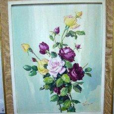 Arte: 1472.- OLEO S/TELA 82X65 CON MARCO ,,,LAFUENTE . Lote 24990907