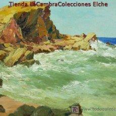 Arte - MARINA ESCUELA CATALANA, PRINCIPIOS S.XX, FIRMADA. MUY BIEN ENMARCADO-. - 25237281