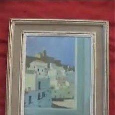 Arte: OLEO SOBRE TABLERO RAFAEL GRIERA CADAQUES. Lote 11079849