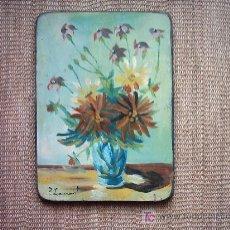 Arte: PRY LAMONT OLD IRONSIDES (1921-1987). OLEO/ TABLA. 35.5 X 25.5 CM. FIRMADO: P. LAMONT.. Lote 27186006